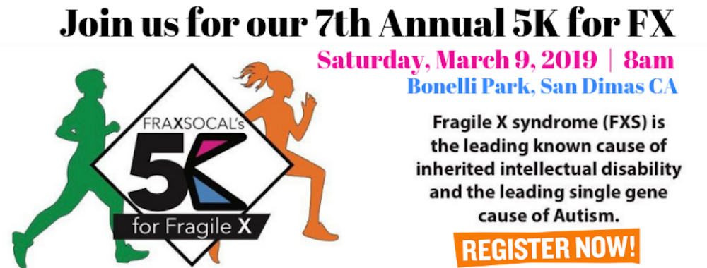 7th Annual 5K For Fragile X