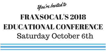 FraxSoCal's 2018 Educational Conference