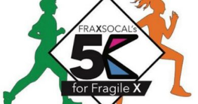 FraxSoCal 7th Annual 5K Race for Fragile X
